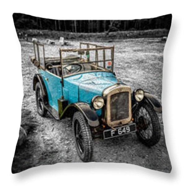 The Austin 7 Throw Pillow by Adrian Evans