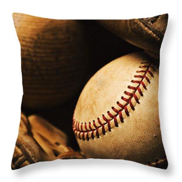 The Beautiful Game Throw Pillow by Karen Shukle
