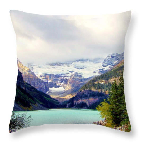 The Beauty Within Throw Pillow by KAREN WILES