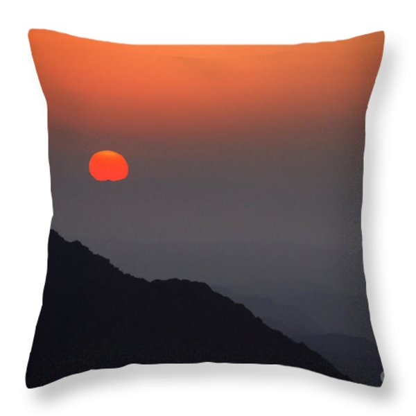 The Beginning Throw Pillow by Hannes Cmarits