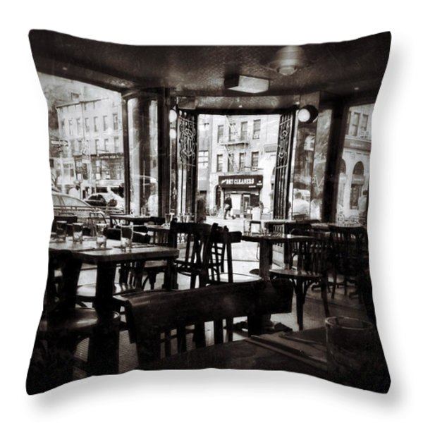 The Belcourt Throw Pillow by Natasha Marco