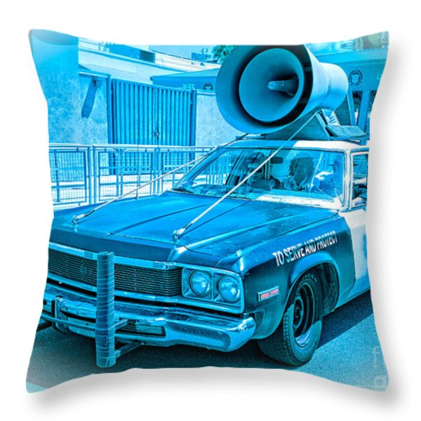 The Blues Brothers Throw Pillow by Edward Fielding