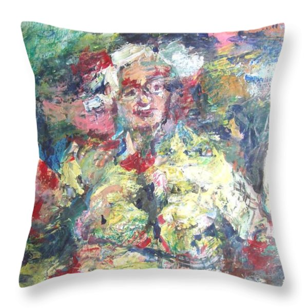 The Bobbe Throw Pillow by Esther Newman-Cohen