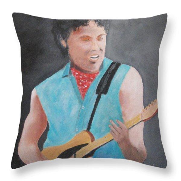 The Boss Throw Pillow by Rich Fotia