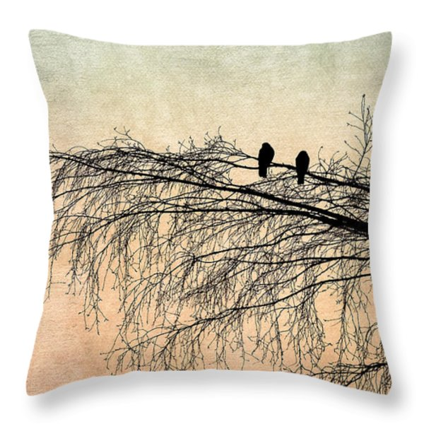 The Branch Of Reconciliation 2 Throw Pillow by Alexander Senin