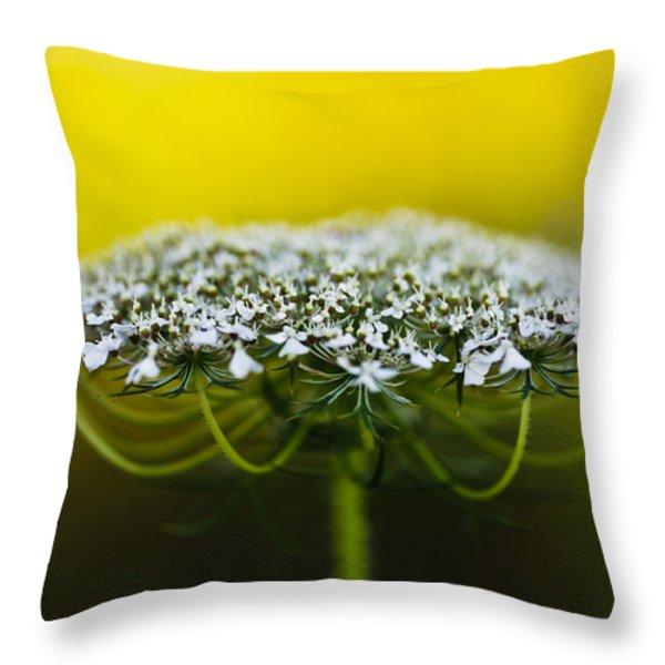 The Bright Side of Life Throw Pillow by Christi Kraft