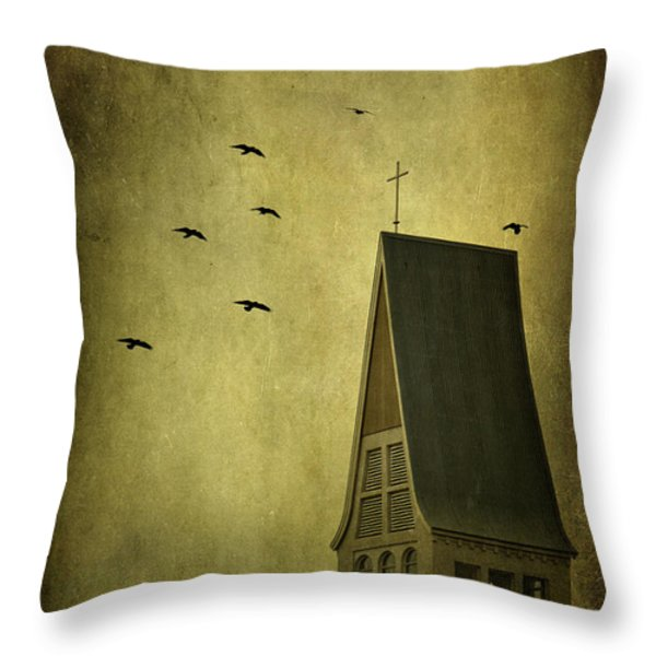 The Calling Throw Pillow by Evelina Kremsdorf