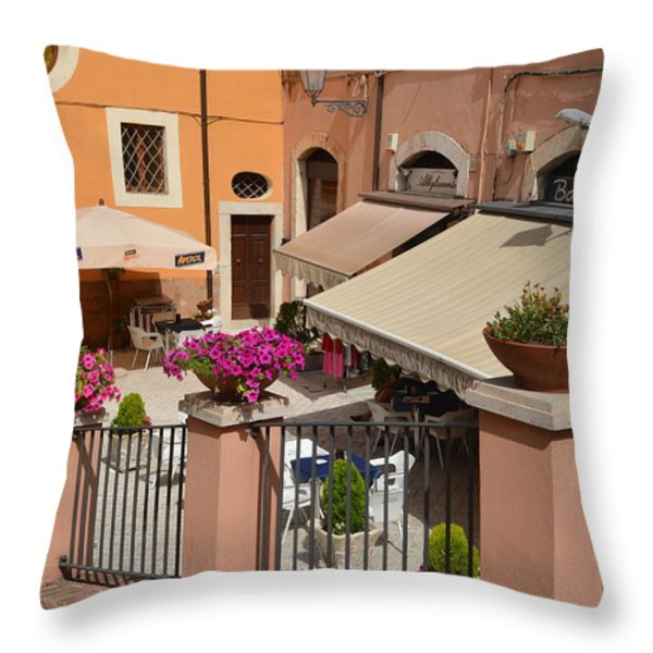 The Charming Square Throw Pillow by Dany  Lison