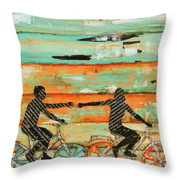 The Chase Throw Pillow by Danny Phillips