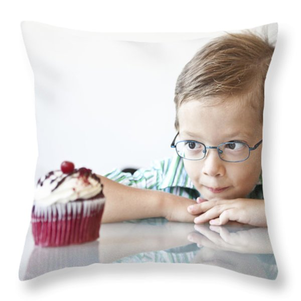 The Choice Throw Pillow by Diane Diederich