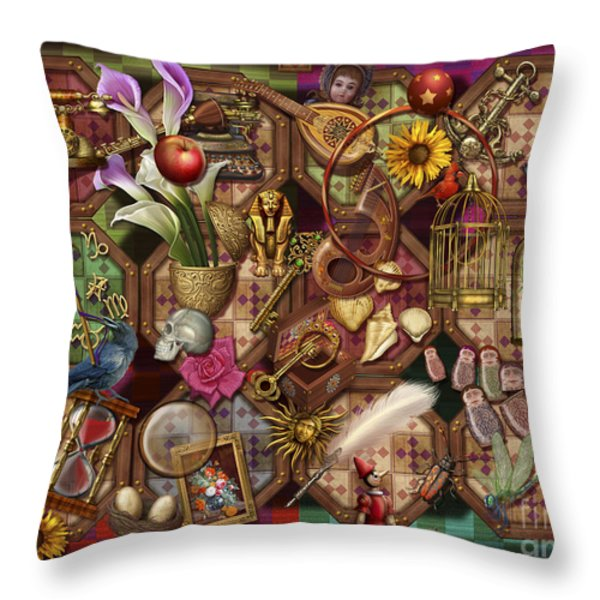 The Collection Throw Pillow by Ciro Marchetti