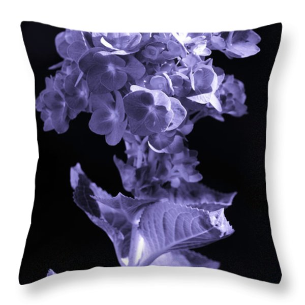 The Color Purple Throw Pillow by Sandi OReilly