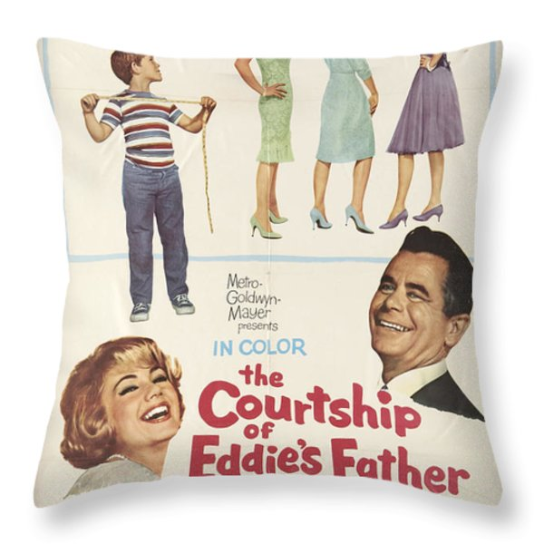 The Courtship Of Eddie's Father Throw Pillow by Mountain Dreams