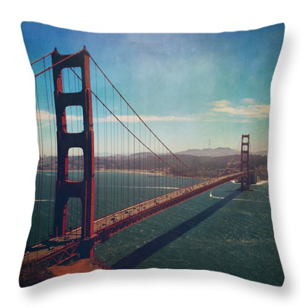 The Crossing Throw Pillow by Laurie Search