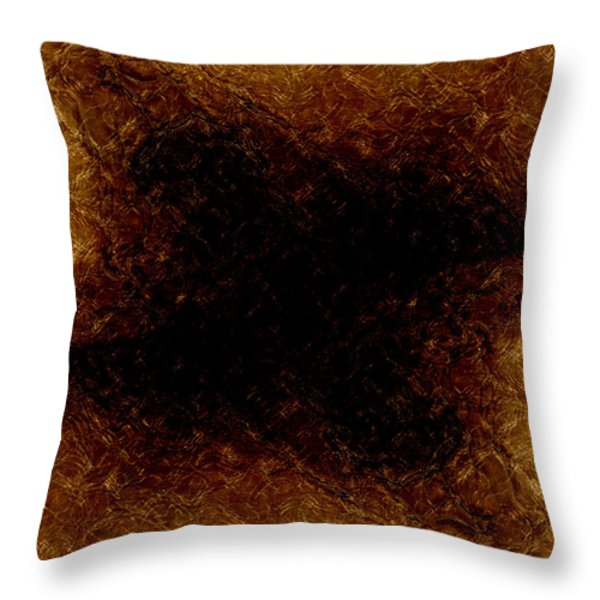 The Descent Throw Pillow by James Barnes
