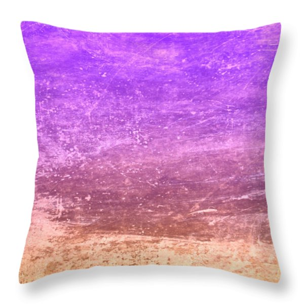 The Desert Throw Pillow by Peter Tellone