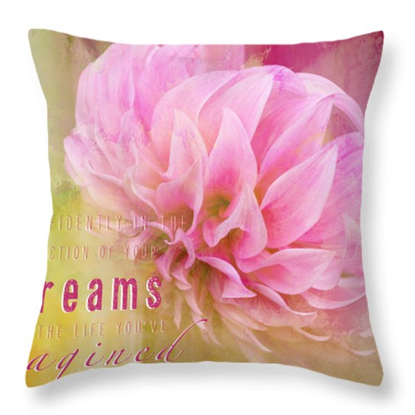 The Direction Of Your Dreams - Image Art Throw Pillow by Jordan Blackstone