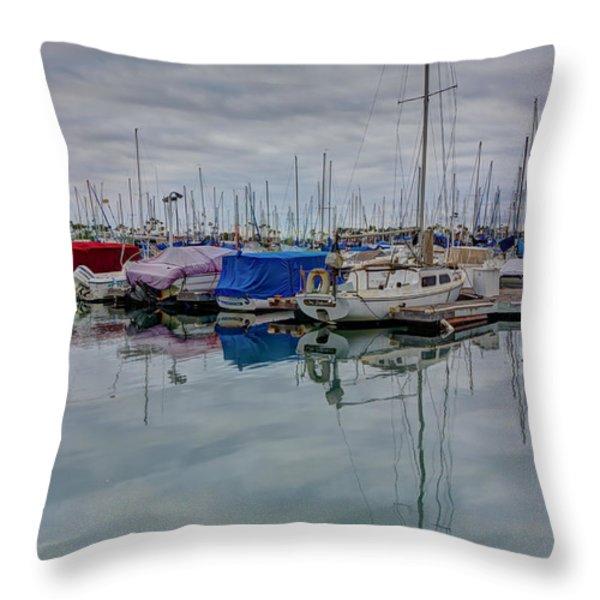 The Doghouse Throw Pillow by Heidi Smith