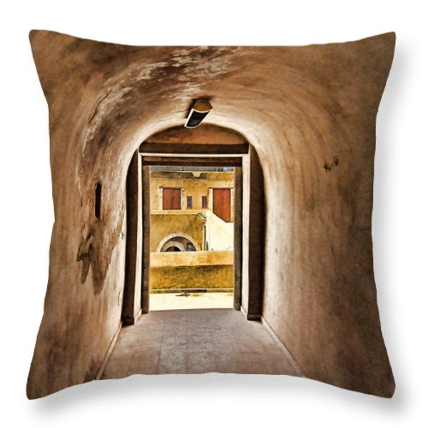 the door 2 Throw Pillow by Dhouib Skander