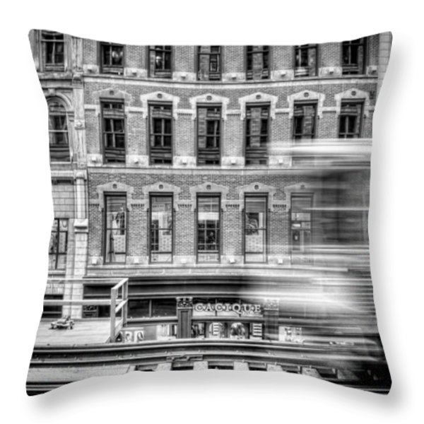 the elevated Throw Pillow by Scott Norris