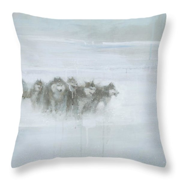 The Explorer Throw Pillow by Steve Mitchell