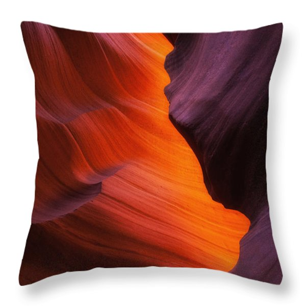 The Fire Within Throw Pillow by Darren  White