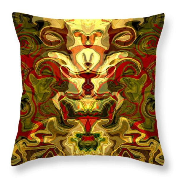 The Force Throw Pillow by Omaste Witkowski