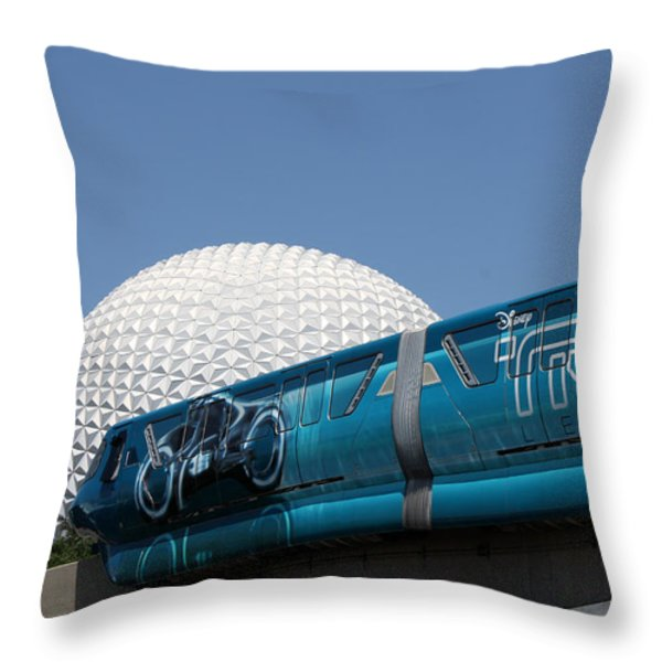 The Future Throw Pillow by David Nicholls