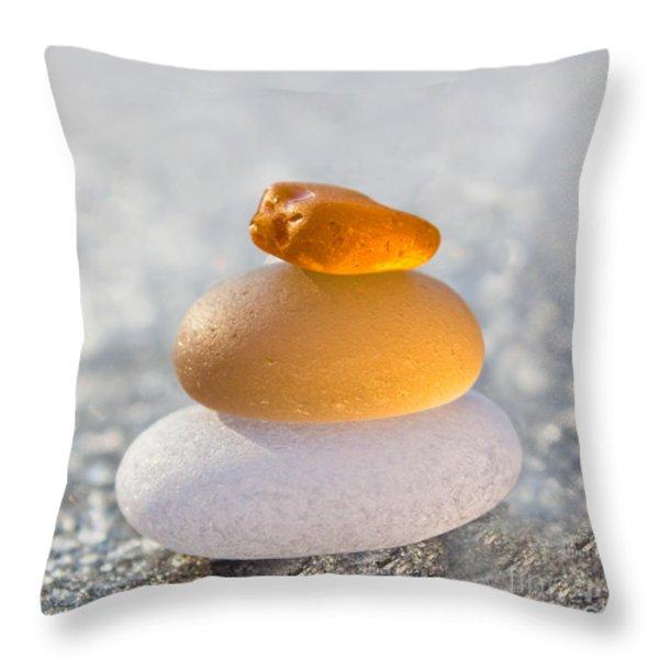 The Golden Egg Throw Pillow by Barbara McMahon