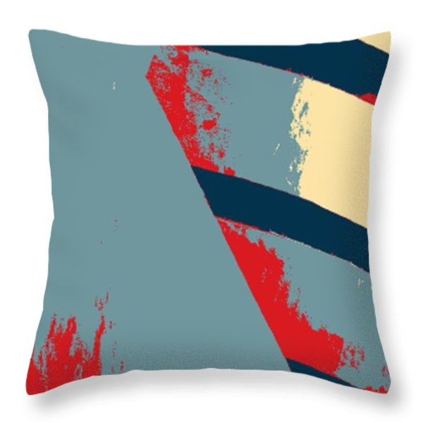 The Guggenheim In Hope Throw Pillow by Rob Hans