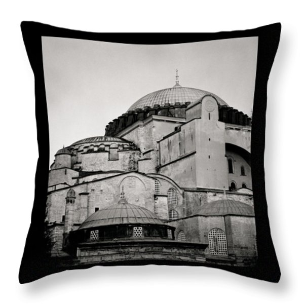The Hagia Sophia Throw Pillow by Shaun Higson