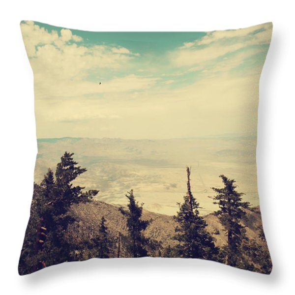 The Heart Soars Throw Pillow by Laurie Search