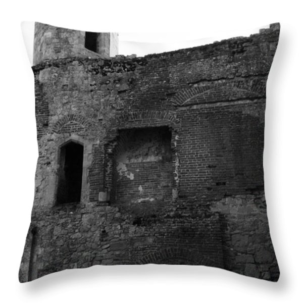 The Hearths Of Titchfield Abbey Throw Pillow by Terri Waters