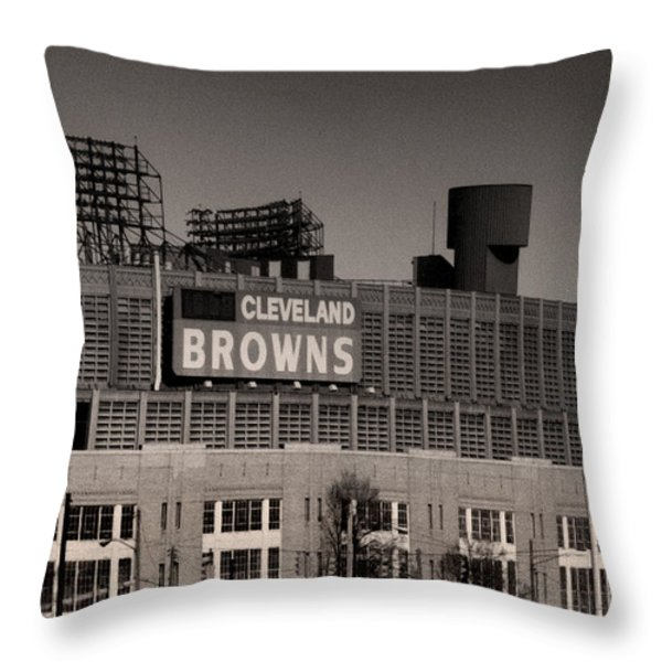 The Hometeams Throw Pillow by Kenneth Krolikowski