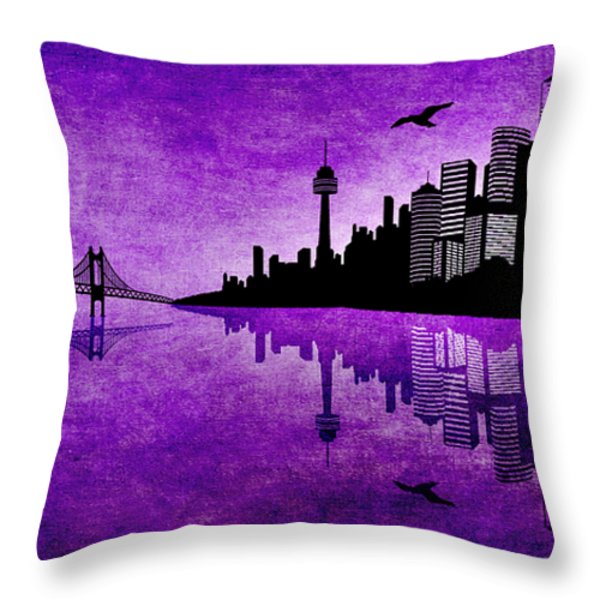 The Hubris Of Mankind 2 Throw Pillow by Angelina Vick