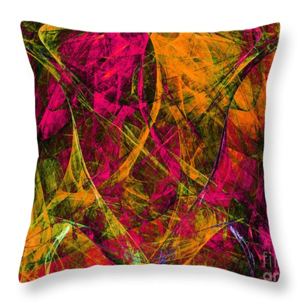 The Jester 20130510 Throw Pillow by Wingsdomain Art and Photography
