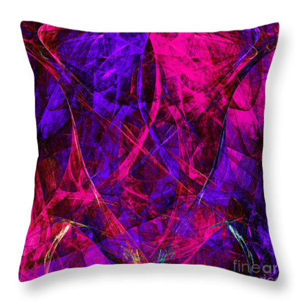 The Jester 20130510v2 Square Throw Pillow by Wingsdomain Art and Photography