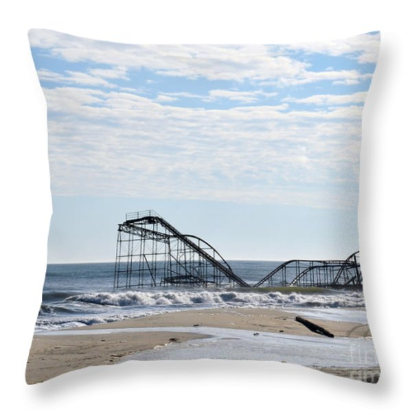 The Jetstar Throw Pillow by Photoart BySaMi