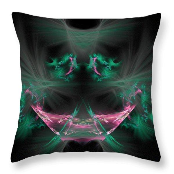The Joker Throw Pillow by Bruce Nutting