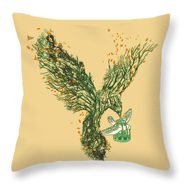 The Journey Begins Throw Pillow by Budi Satria Kwan
