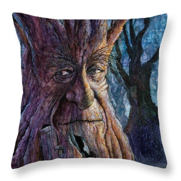 The Key Throw Pillow by Frank Robert Dixon