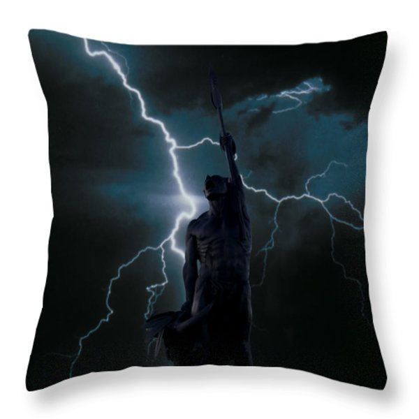 The Kill Throw Pillow by Jon Burch Photography
