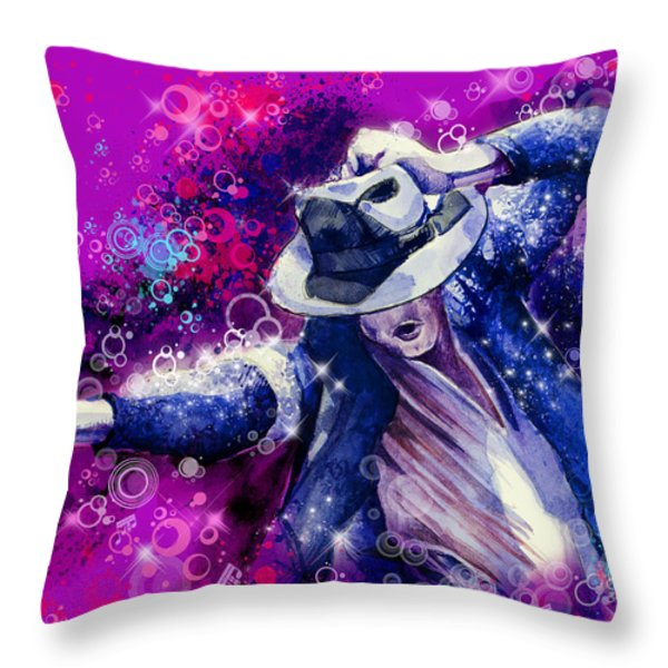 The King 2 Throw Pillow by MB Art factory