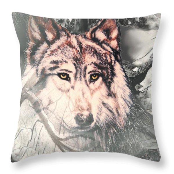 The Lair Throw Pillow by Melodye Whitaker