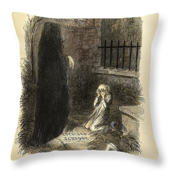 The Last of the Spirits Throw Pillow by Philip Ralley
