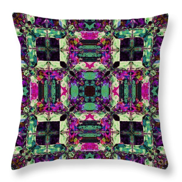 The Last Supper Abstract 20130130m68 Throw Pillow by Wingsdomain Art and Photography
