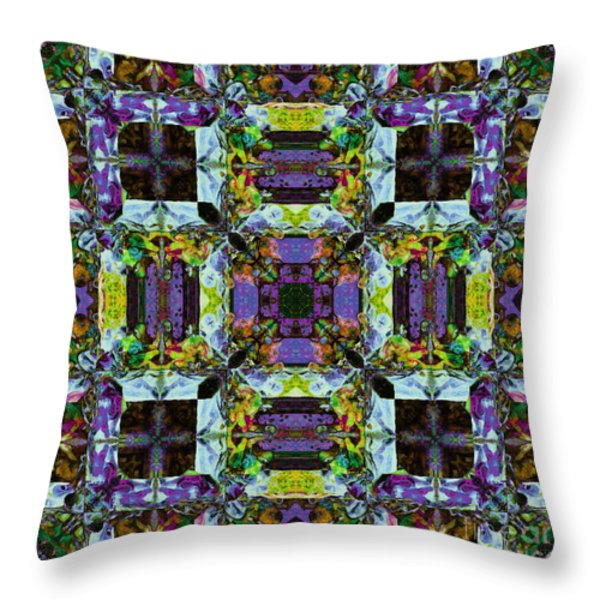 The Last Supper Abstract 20130130p40 Throw Pillow by Wingsdomain Art and Photography
