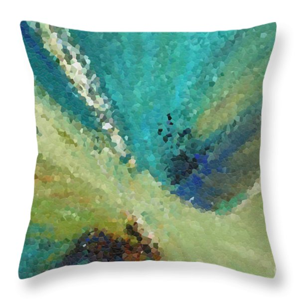 The Law Of Opposition. Revelation 2 7 Throw Pillow by Mark Lawrence