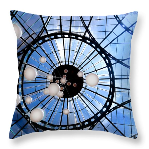 The Light Of Justice Throw Pillow by Al Bourassa