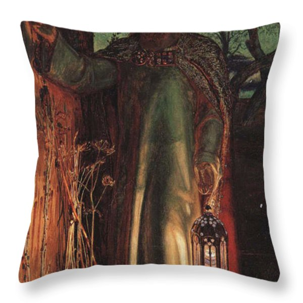 The Light Of The World Throw Pillow by Philip Ralley